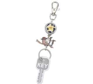 Disney Toy Story Woody key chain 可伸縮的匙扣