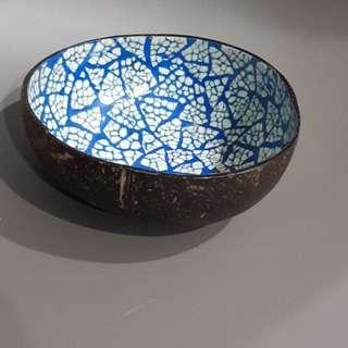 coconut husk bowl