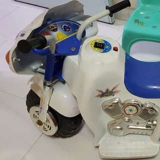 To bless kid's electric motor bike