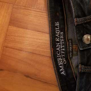 AMERICAN Eagle 高腰女裝牛仔褲 high waist Super super stretch Jeans