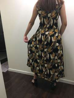 Designed vintage long dress size 10