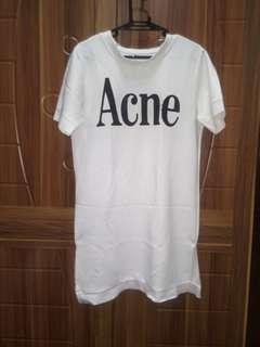 Acne Dress w/Slit