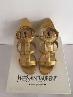 YSL Gold Wedge