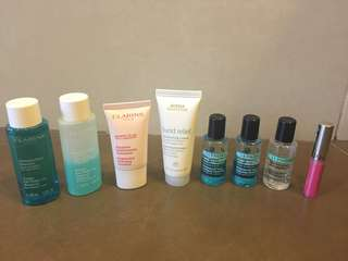 Skin care travel size