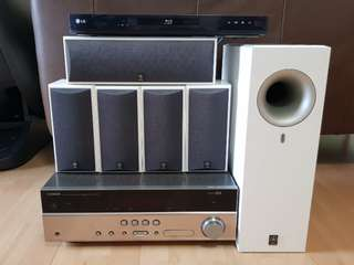 Yamaha RX-V567 5.1ch Home Theatre System with Amplifier