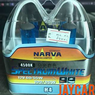 Narva H4 4500K Spectrum White Car Light Bulb