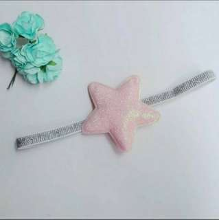 Baby Girl/Toddler Glitter Star Headband