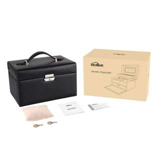 Kealive Portable Jewelry Case Organizer
