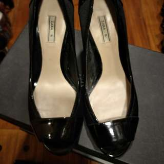 Zara Peep Toe Shoes
