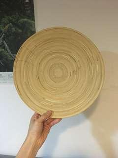 🚚 IKEA竹製圓盤/碟子