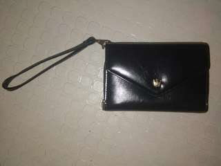 Black Pouch Wallet