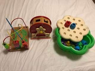 幼兒玩具 all for $100