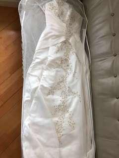 Wedding gown 拖尾婚紗