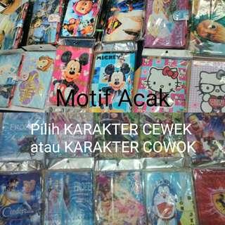 "6.8"" 7"" inchi Sarung Case Universal Flip Cover Penutup Hp"