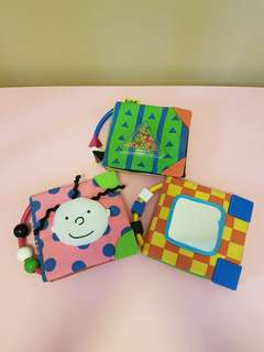 Baby Cloth Books (set of 3) for sale!