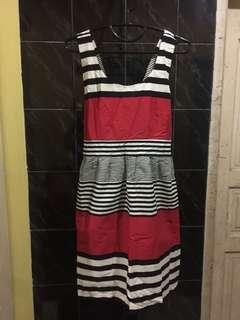 "Dress garis"""