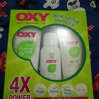 OXY Acne Control Started Kid 3in1