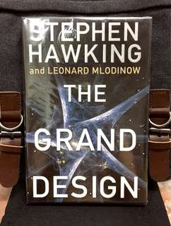 《Bran-New + Collection Hardcover Edition + Examines The History of Scientific Knowledge About The Universe And Explains 11 Dimensions  M-Theory》Stephen Hawking & Leonard Mlodinow -THE GRAND DESIGN