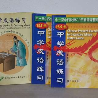 Chinese Proverb Exercises for Secondary
