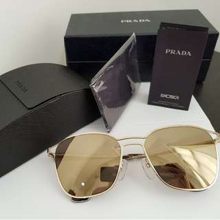 AUTHENTIC PRADA LUXOTTICA SUNGLASS