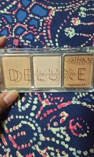 Catrice Deluxe Glow Highlighter Trio Palette