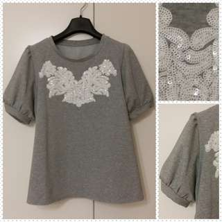 Embroidery ladies blouse