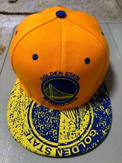 Golden state warriors caps/hats (yellow)