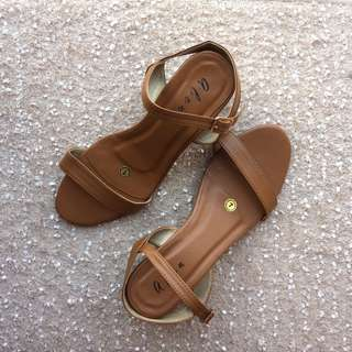 Tan Block Heels for Women