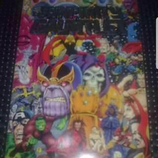 Infinity Gauntlet The Book Marvel Comics