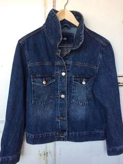 H&M Oversized Denim Jacket