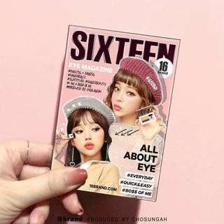 16 Brand Eye Magazine (Duo Eyeshadow) 2.5g