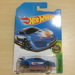 Hot Wheels 252/365 Renault Sport R.S. 01 Blue #List4Avengers