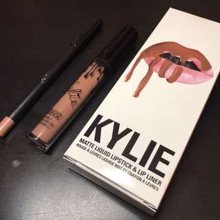 NEW Kylie Jenner Lip Kit in 'Dolce K'