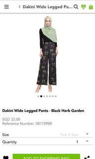 POPLOOK Dakini Wide Legged Pants