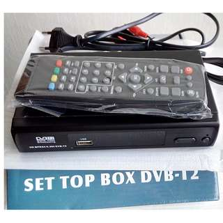 DVB-T2 Digital TV Tuner for Mediacorp Channels BNIB