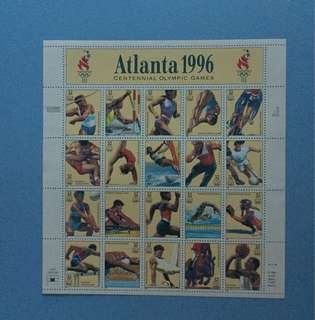 1996年美國郵票Atlanta 1996
