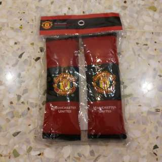 Manchester United Seat Belt Cover