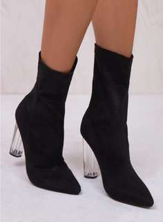 Billini Black Suede Evita Boots