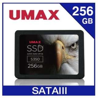 UMAX S350 256GB 2.5吋 SATAⅢ固態硬碟(全新)
