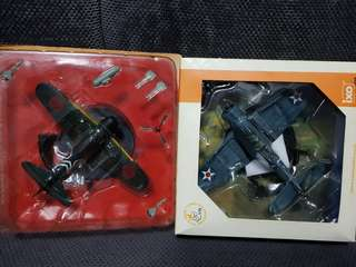 Sale 1/72 WW2 Diecast ZERO & US PLANE sgd60 for 2 planes