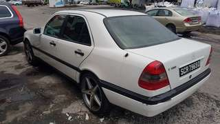 Scapping w124 parts