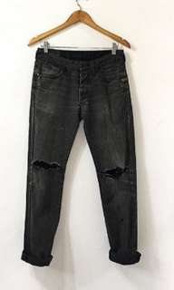 Ripped Jeans Dark black size 28