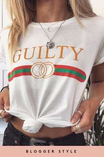 Gucci guilty t-shirt