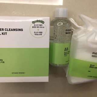 Etude House Monster Cleansing Travel Kit