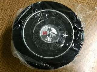 【MICKEY MOUSE】日本正版迪士尼米奇黑色鋼錶
