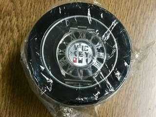 【MICKEY MOUSE】日本正版迪士尼米奇銀色鋼錶