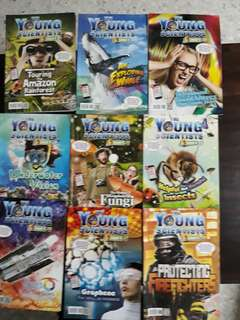 Young Scientist level 4 - 2016 and 2017 books