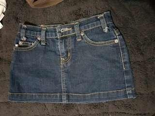 2 Maong skirt