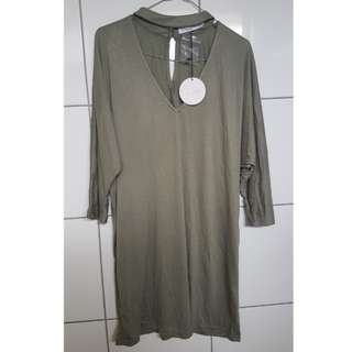 RRP$39.95 Brand New Khaki Dress