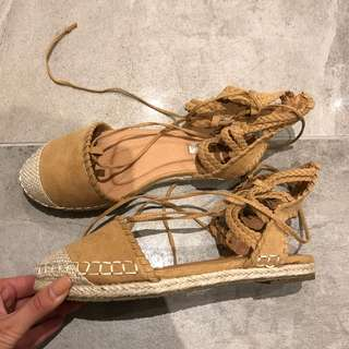 Billini tie up espadrilles